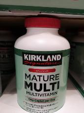 Kirkland Signature Mature Multi 250 count