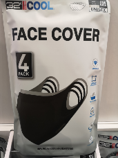 32 Degrees Adult Face Covers 4 pack