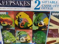 Keepsakes 2 Giftable Puzzles Marilyn and Diana