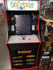 Pacman Upright Arcade Machine 7 in 1 / 40th Edition
