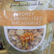 Patons Honey Caramelised Macadamias 400G | Fairdinks