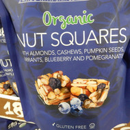 180 Snacks Organic Nut Squares 425G | Fairdinks