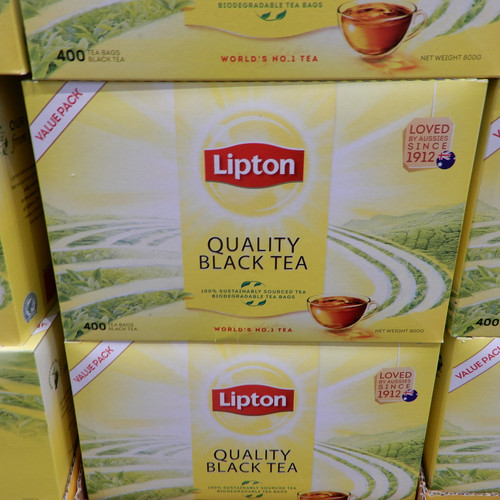 Lipton Quality Black Tea Bags 400 Bags 800G | Fairdinks