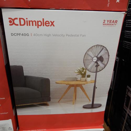 Dimplex High Velocity Pedestal Fan 40CM | Fairdinks