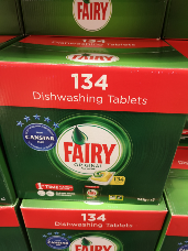 Fairy All In One Dishwashing Tablets 134 pack