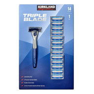Kirkland Signature Triple Blade Razor + 14 Cartridges | Fairdinks