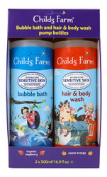 Childs Farm Kids Bubble and Body Wash 2 x 500ML | Fairdinks