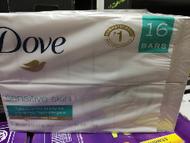 Dove Sensitive Bar Soap 16 x 113G
