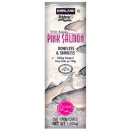 Kirkland Signature Wild Alaska Pink Salmon 6 x170G | Fairdinks