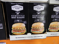 Gippsland Pure Angus Beef Burger 12 x 150G | Fairdinks