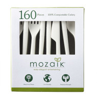 Mozaik Compostable Cutlery 160CT | Fairdinks