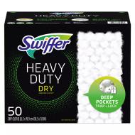 Swiffer Heavy Duty Dry Re-fill 50CT   Fairdinks