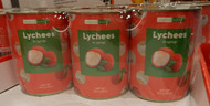 Tropical Fields Lychee in Syrup 3 x 567G | Fairdinks