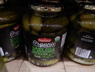 Nalley Organic Kosher Baby Dill Flavoured Pickles 1.36KG | Fairdinks