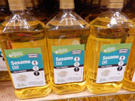 Absolute Organic Organic Pure Sesame Oil 1.5L   Fairdinks