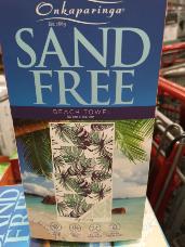 Onkaparinga Sand Free Beach Towel 80cm x 160cm