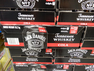Jack Daniel's Tennessee Whiskey & Cola 24x375ML | Fairdinks
