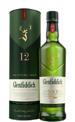 Glenfiddich 12 YO Single Malt Scotch 1L | Fairdinks