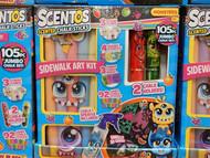 Scentos Sidewalk Art Kit 105 PCS Jumbo Chalk Set | Fairdinks