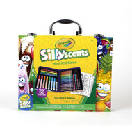 Crayola Silly Scents Minia Art Case 50 Pieces | Fairdinks