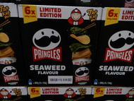 Pringles Tao Kae Noi Seaweed 6 x 134G | Fairdinks