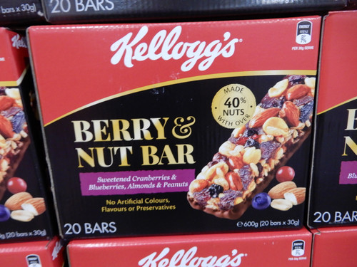 Kellogg's Berry & Nut Bar 20 x 30G | Fairdinks