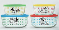 Pyrex Disney Mickey Mouse Glass Food Storage Set 8 Piece | Fairdinks