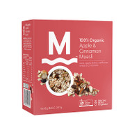 Murray Ricer Organics Organic Apple Cinnamon Muesli 3 x 300G | Fairdinks