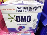 OMO Triple Capsules Active 100 Count | Fairdinks