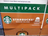 Starbucks By Nespresso House Blend Coffee Capsules 120 Pack, 684G | Fairdinks