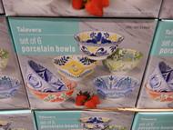 "Talavera 6"" Porcelain Bowls Set of 6 | Fairdinks"