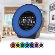La Crosse Mood Light LCD Alarm Clock with Nature Sounds | Fairdinks