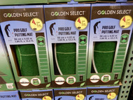 Golden Select Pro Golf Turf Putting Mat 4.02M x 56CM | Fairdinks