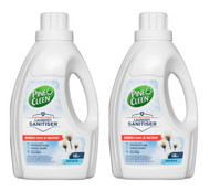Pine O Cleen Laundry Sanitiser 2 x 1.5L Fresh Cotton | Fairdinks