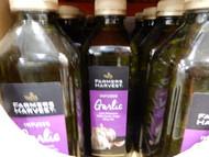 Farmers Harvest Garlic Infused 100% Extra Virgin Olive Oil 1L   Fairdinks