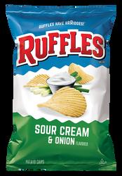 Ruffles Sour Cream & Onions 500G | Fairdinks