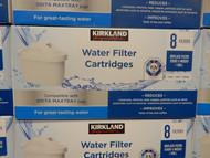 Kirkland Signature Water Filter Cartridge 8 Pack   Fairdinks