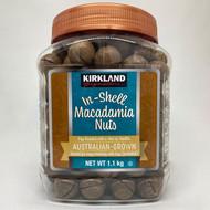 Kirkland Signature In-Shell Macadamia Nuts, 1.1KG | Fairdinks