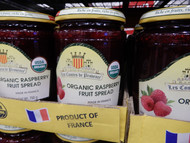 Les Comtes De Provence Organic Raspberry Spread 750G | Fairdinks