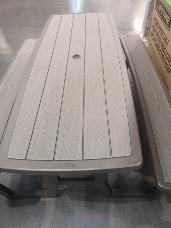 Lifetime Folding Picnic Table 199cm x 76cm