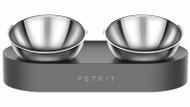 Petkit Dual Metal Bowl Set | Fairdinks