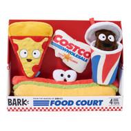 Bark Costco Foodcourt Dog Toys 4PK | Fairdinks