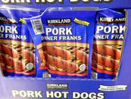 Kirkland Signature Pork Dinner Franks 40oz 1.72KG   Fairdinks