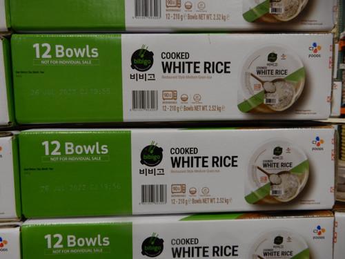 CJ Bibigo Cooked White Rice 12 x 210G | Fairdinks