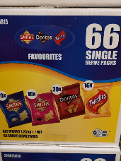 Smiths Variety Favourites 66 Pack