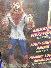 Animated Werewolf with Animation & Sound