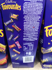 Cadbury Favourites 837g
