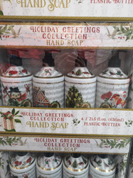 Home & Body Holiday Greeting Handsoap 4 x 636ml