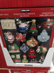 KS Holiday Gift Tags 84 Pack