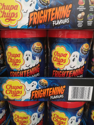 Chupa Chups Frightening Flavours 100 count